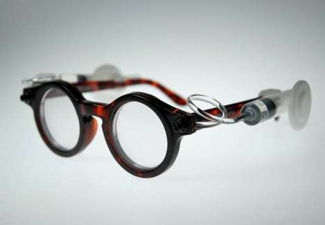 Water-Filled Eyeglasses