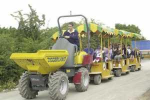 The Diggerland Amusement Park Looks Surprisingly Fun