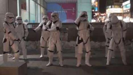 Star Wars Dance Troops