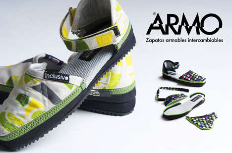 Transformer Kicks - The Armo Exchangeable Shoes