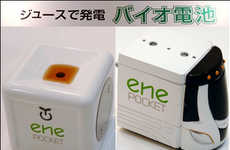 Pop-Powered Toy Cars - The 'ene Bio Engine' Car Runs on Juice and Soda