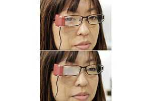 Wink Glasses Will Not Help You in a Staring Contest
