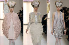 Pastel Bouffant Fashion - The 2010 Chanel Haute Couture Collection Takes Cues from Minnie Mouse