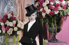 Equestrian Runway Shows - Christian Dior Spring Haute Couture Brings Out the Whips