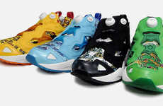 Rainbow Reeboks - The Reebok 2010 Spring Hawaiian Insta Pump Fury Collection