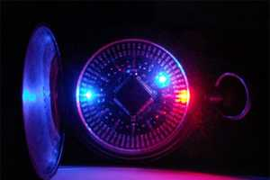 Led Watch Tells Time at the Speed of Light