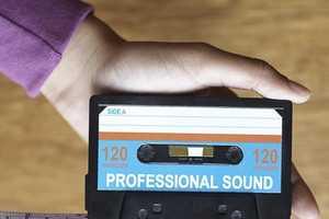 Cassette Tape Measure Makes Music Handy