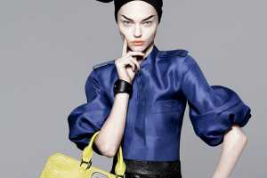 The Longchamp Spring 2010 Campaign is Poised