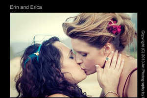 Erin and Erica's Fantasy Nuptials Showcase Who They Are