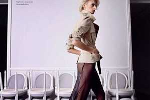 Harper's Bazaar Russia February 2010 Falls for Fashion