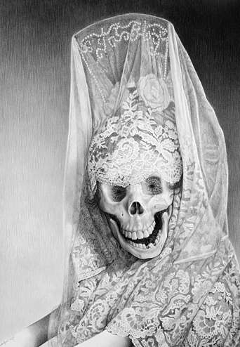 Skeletal Bride Artwork