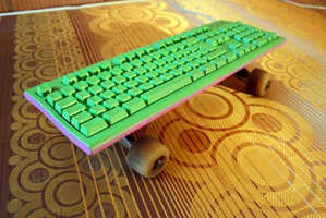 The 'Skatekeyboard' is For Office Use Only