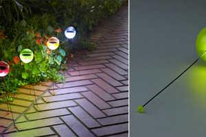 The Solar Ball Light is a Flashy Decoration