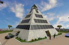 Disaster-Safe Pyramids - Architecture With Extreme Safety Measures Built-In