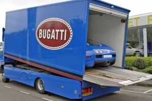 The Bugatti Veyron Comes With Its Own Transport Truck