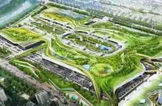 Korean Living Roofs - Gargantuan Green Roof Planned for Seoul, South Korea