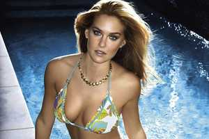 Bar Refaeli Rocks Barely-There Bikinis For Rampage 2010