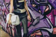Graffiti Editorials - Allure 2010 January Issue Does High-Fashion Street-Style