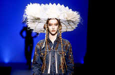 Jean Paul Gaultier Spring 2010 Line is Ancient