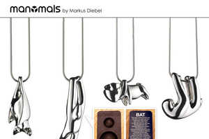 The Markus Diebel Manymals Necklaces are Charming