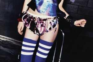 'Romantic vs. Sporty' Looks in Elle UK February 2010