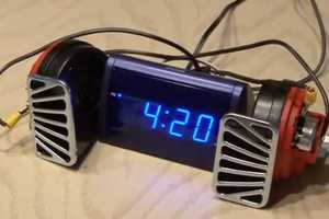 World's Loudest Alarm Clock is like an Espresso for Your Ears