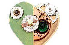Eco-Steampunk Hearts - Jim Mullan and Tori Rhoades Make Gifts for Your Dystopian Valentine