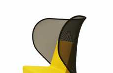 Furniture With Wings - The Club Chair by El Ultimo Grito for Uno Design Has Mesh Wings