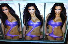 Self-Leaked Celebtography - Kim Kardashian Unairbrushed Pictures Shared on Twitter
