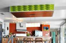 Watermelon Ceiling Panels