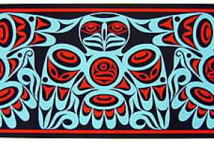 Coast Salish Carvings and Prints from Pacific Northwest Artist Joe Wilson