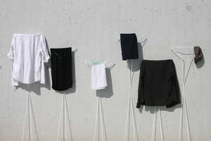 The Siluet is Storage Art for Your Clothing by Stephanie Estoppey
