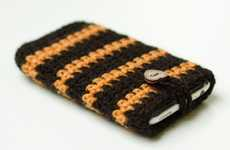 Handmade iPhone Cases - The Crochet iPhone Case is a Soft Blanket for Your Iphone
