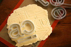 Bake and Eat Your Words With Beverly Hsu's Helvetica Cookie Cutters