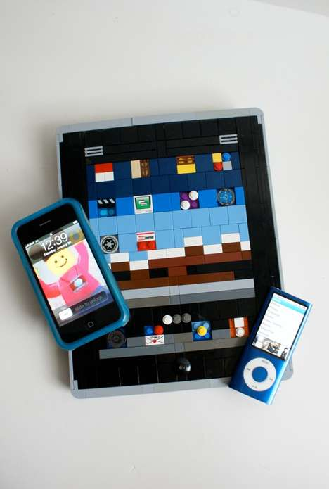 Lego iPad Remakes