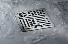 Decorative Drain Designs