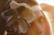 Floral Hippie Headwear - Emily Blake in 'Ardent' for S Magazine Shows How to Tame Your Mane