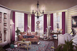 The 'Mah French Apartment' Gallery by Lay Sedlakova