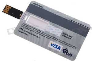 Credit Card USB Drive Has High Rate of Interest