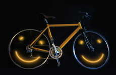 LED Artist Turns Cycling into a True Joyride