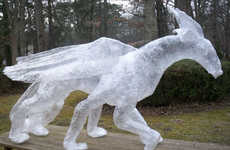 Scotch Tape Dragons - The off the Roll Tape Sculpture Contest is Ridiculously Amazing
