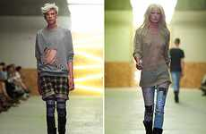 Hipster Grunge Fashions - The Cheap Monday AW10 Collection Gets Down and Dirty