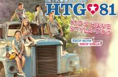 Cheap-Chic For Children - The Forever 21 HTG81 Kids Line Provides Affordable Style