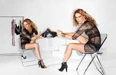 Mirrored Fashion Campaigns