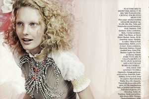 'Girls Allowed' in Vogue UK March 2010 Does Sweet and Spoiled