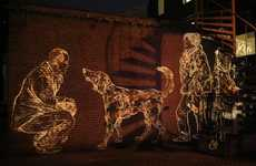 Life-Size Light Graffiti