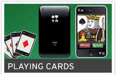 Geeky Gambling Decks - The iPhone Playing Cards are a Sure Bet