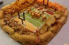 37 Unconventional Super Bowl Snacks - From Doughnut Hamburgers to Recession Pizza