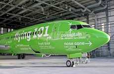 Infographic Airlines - Kulula Rebranding Applies Guidance to Airplane Exteriors
