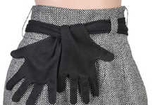 Jazz Hand Belts - This Forever 21 Skirt Features a Bizarre Glove Belt